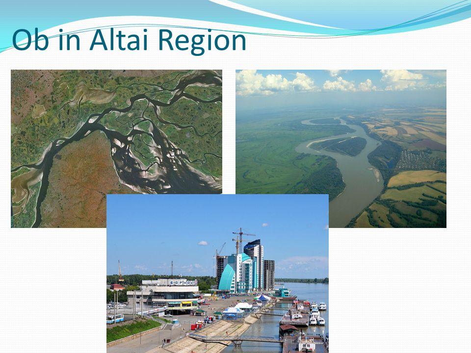 Ob in Altai Region