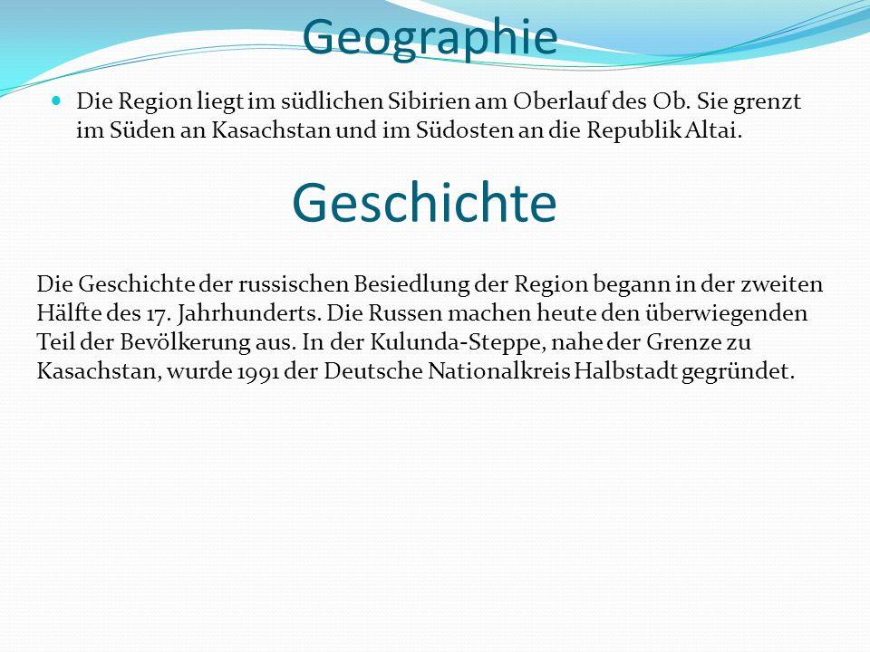 Geschichte Geographie