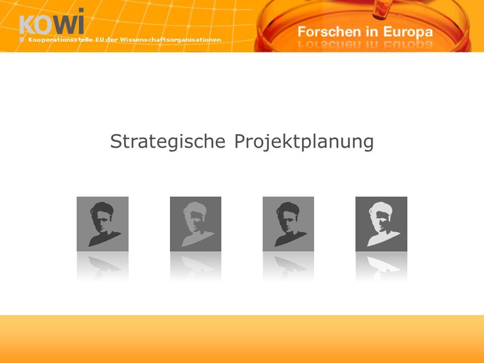 Strategische Projektplanung