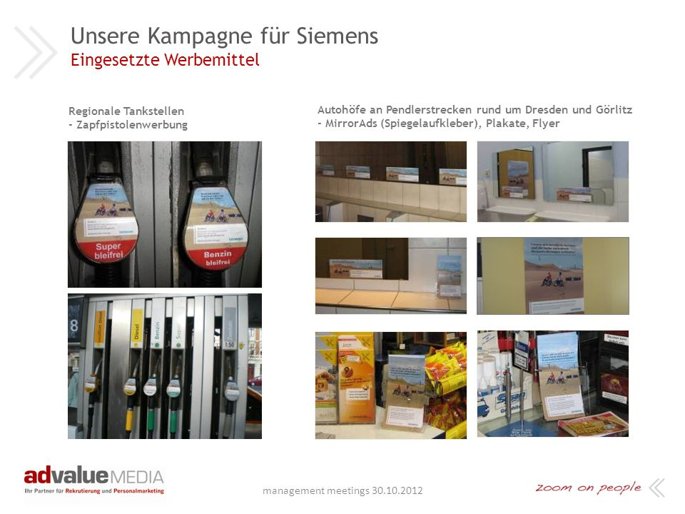 Unsere Kampagne für Siemens