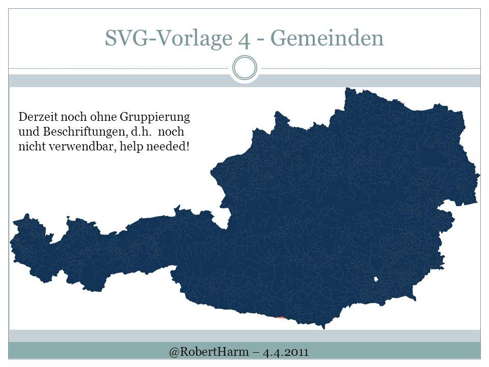 SVG-Vorlage 4 - Gemeinden