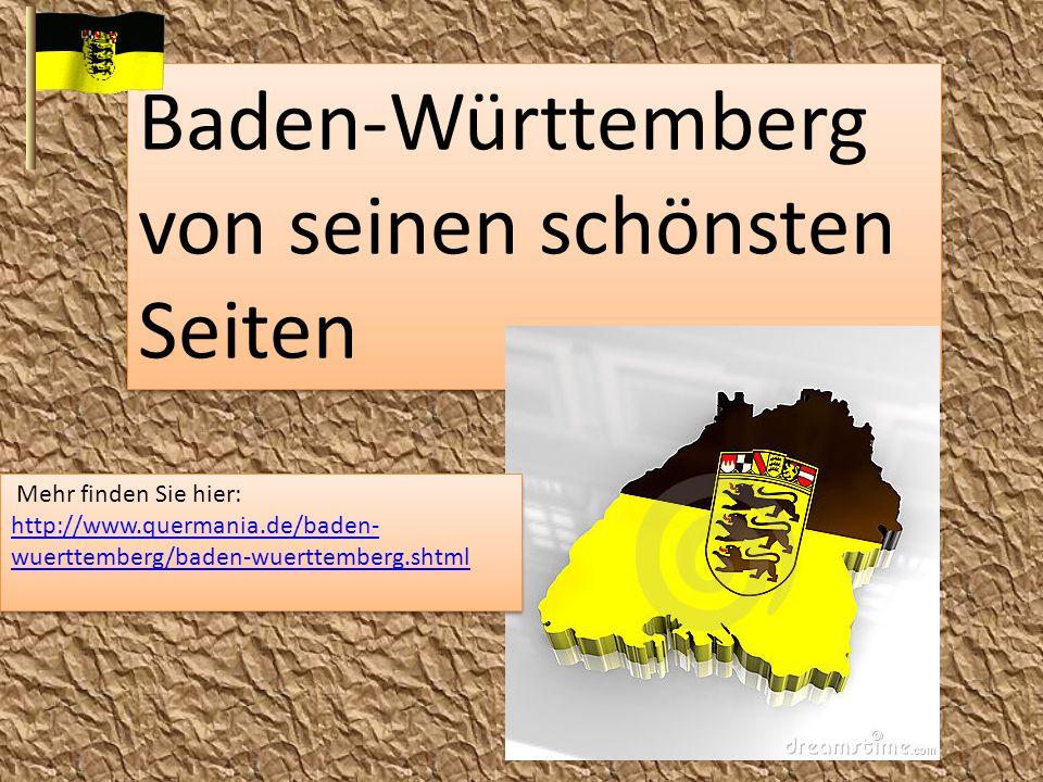 Baden-Württemberg von seinen schönsten Seiten