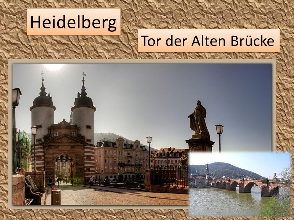 Heidelberg Tor der Alten Brücke