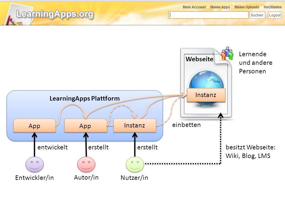 LearningApps Plattform
