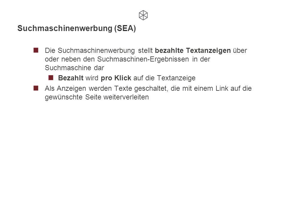 Suchmaschinenwerbung (SEA)
