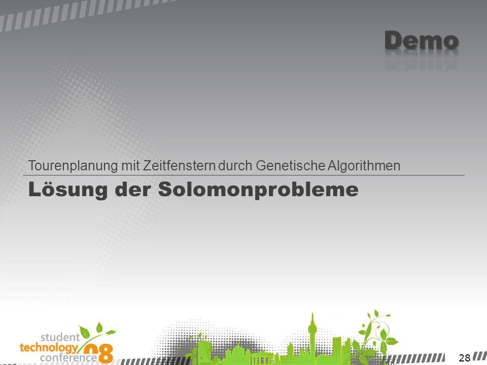 Lösung der Solomonprobleme