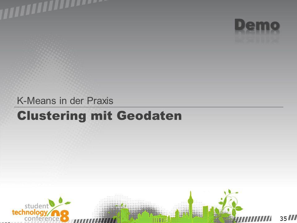 Clustering mit Geodaten