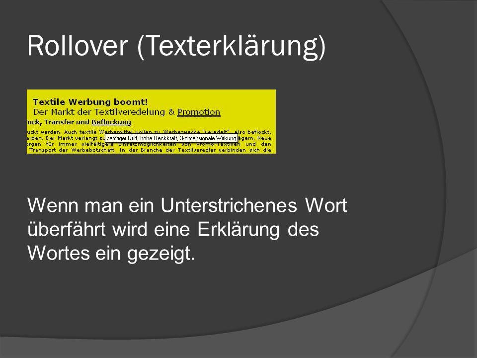 Rollover (Texterklärung)