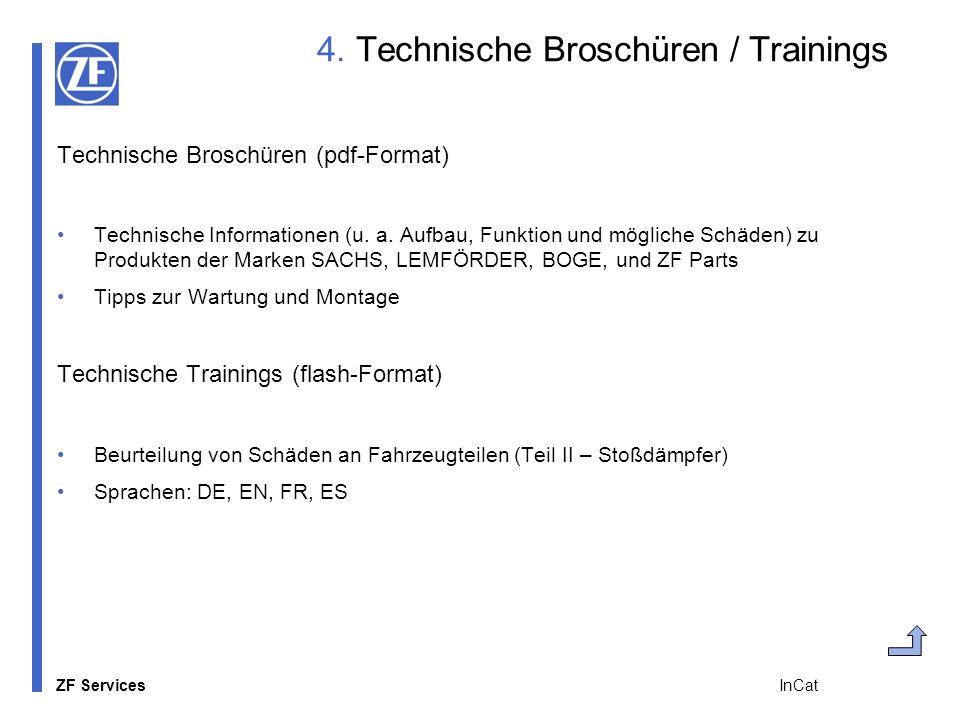 4. Technische Broschüren / Trainings
