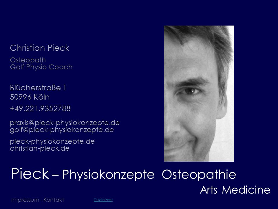 Pieck – Physiokonzepte Osteopathie