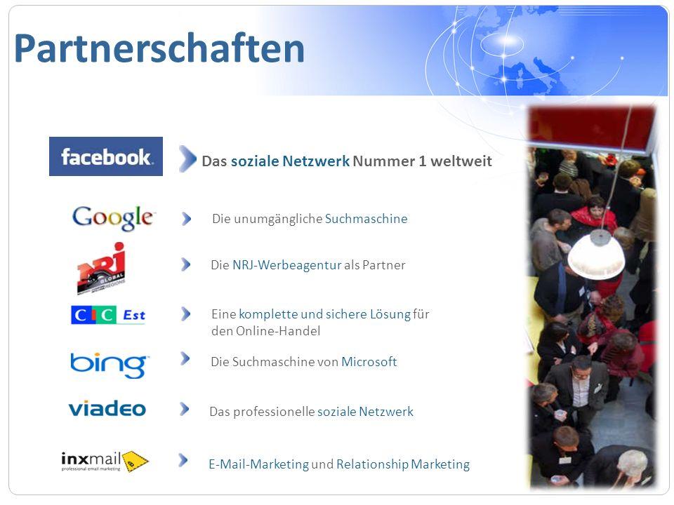 Partnerschaften Das soziale Netzwerk Nummer 1 weltweit