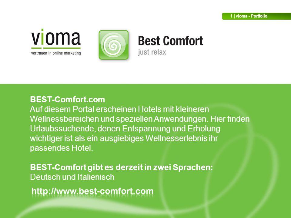 BEST-Comfort gibt es derzeit in zwei Sprachen: Deutsch und Italienisch