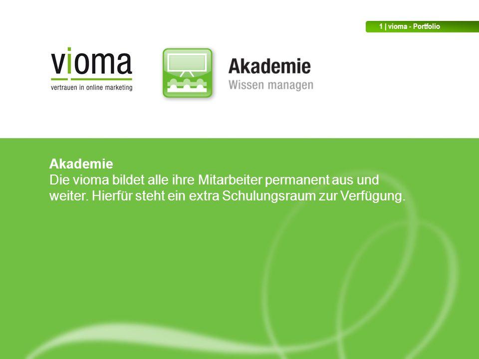 1 | vioma - Portfolio Akademie.