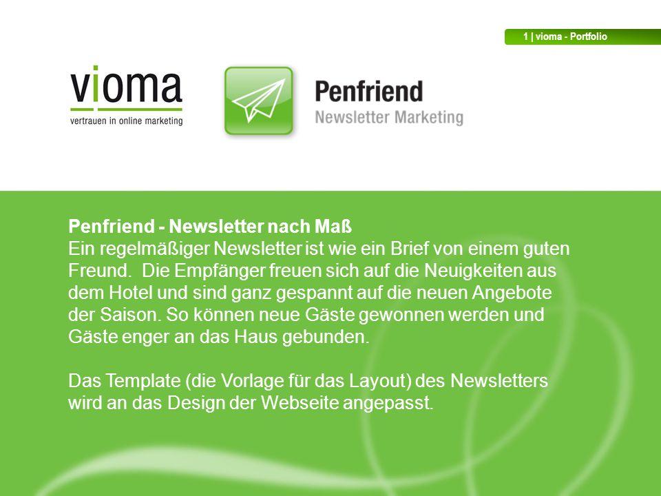 Penfriend - Newsletter nach Maß