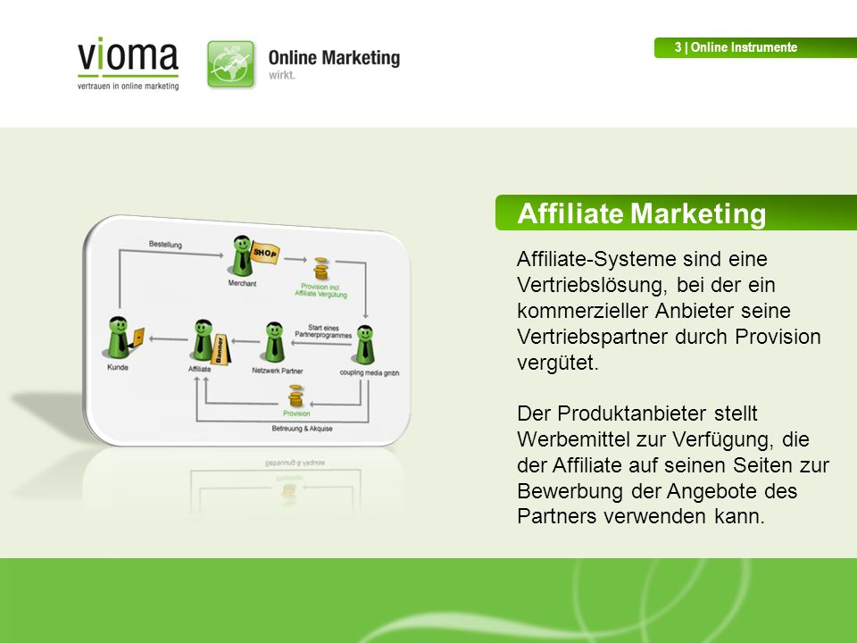 3 | Online Instrumente Affiliate Marketing.