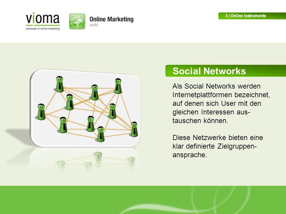 3 | Online Instrumente Social Networks.