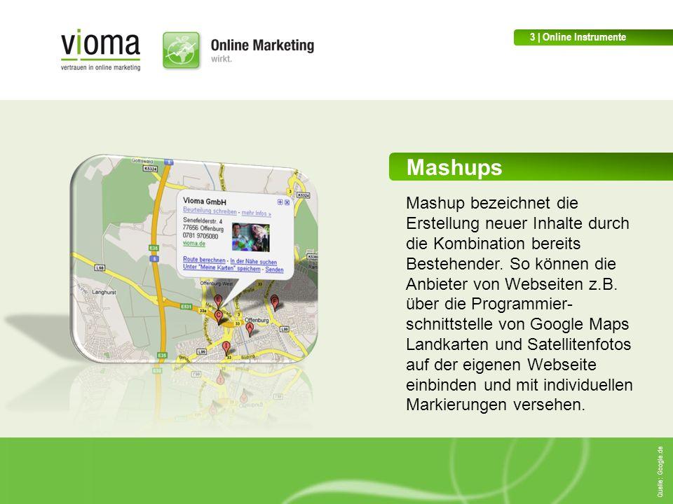 3 | Online Instrumente Mashups.