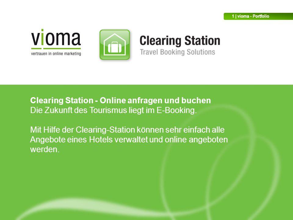 Clearing Station - Online anfragen und buchen