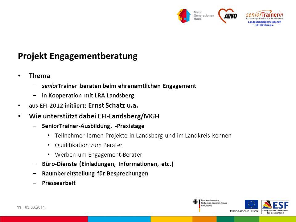 Projekt Engagementberatung