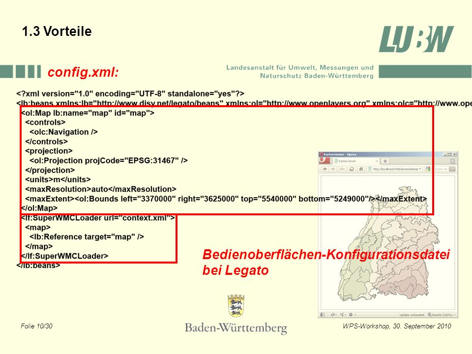 1.3 Vorteile config.xml: Bedienoberflächen-Konfigurationsdatei bei Legato