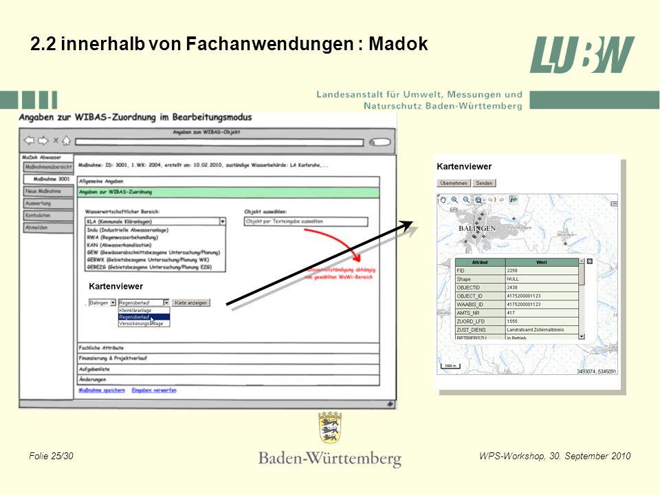 2.2 innerhalb von Fachanwendungen : Madok