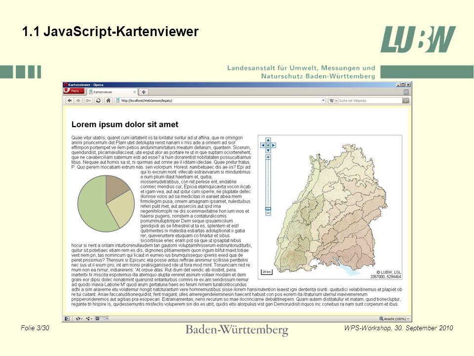 1.1 JavaScript-Kartenviewer