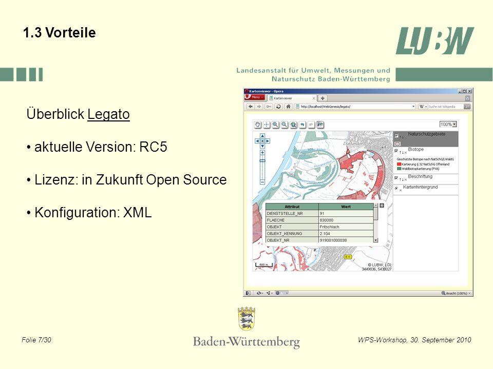 1.3 Vorteile Überblick Legato. aktuelle Version: RC5.