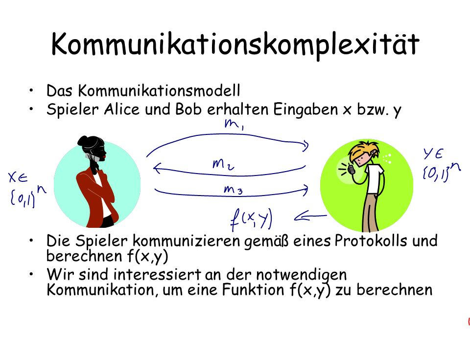 Kommunikationskomplexität
