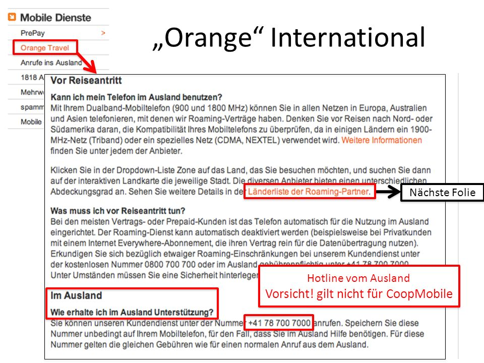 """Orange International"