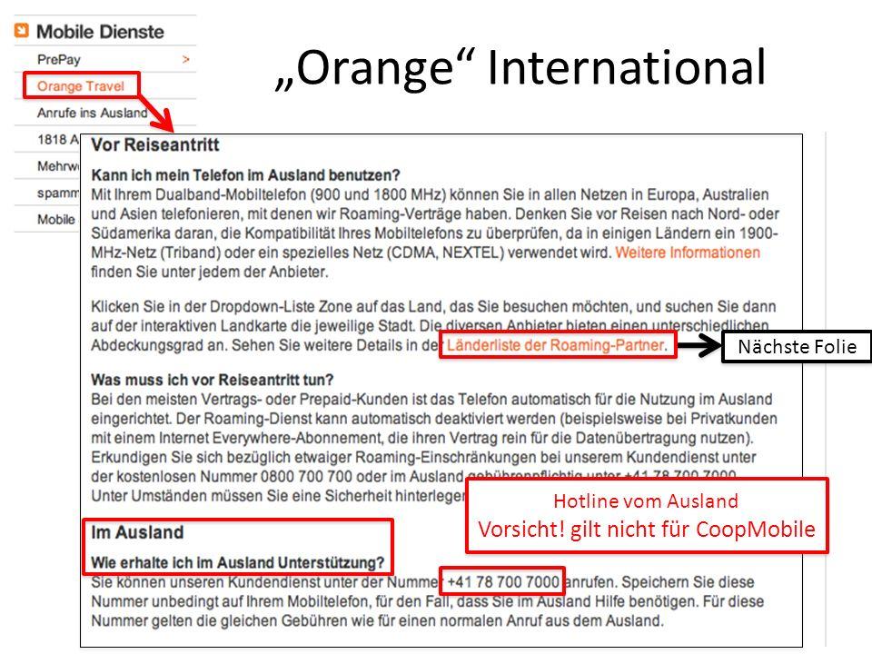 """Orange International"