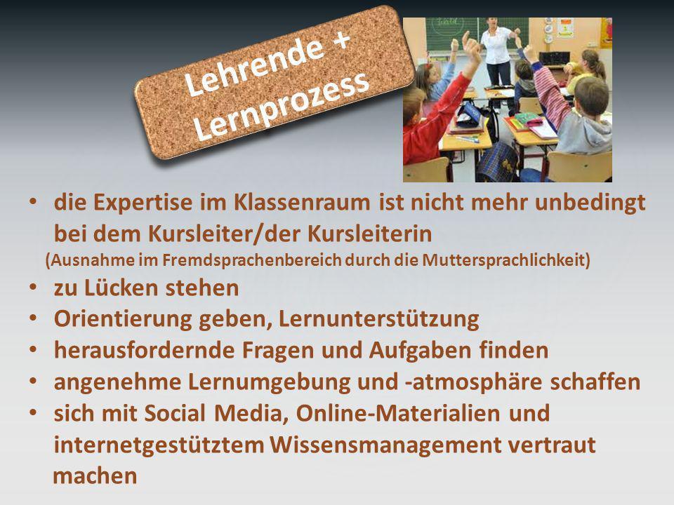 Lehrende + Lernprozess