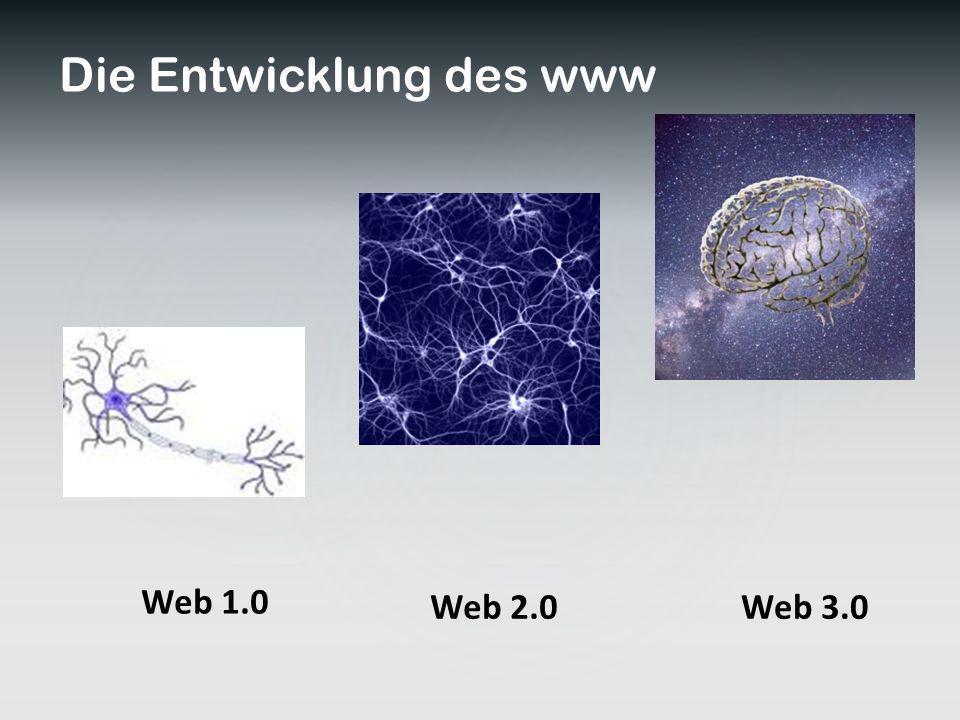 Die Entwicklung des www