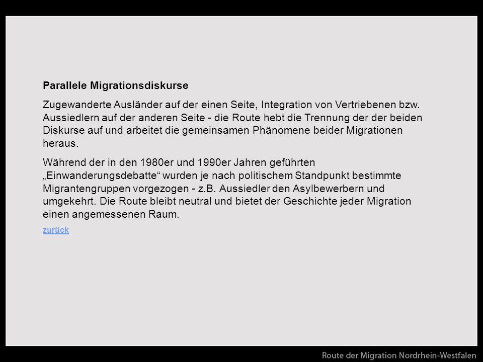 Parallele Migrationsdiskurse