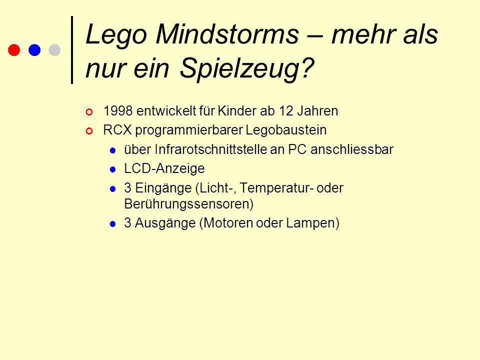 Lego Mindstorms – mehr als nur ein Spielzeug