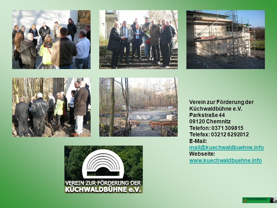 Verein zur Förderung der Küchwaldbühne e.V. Parkstraße 44