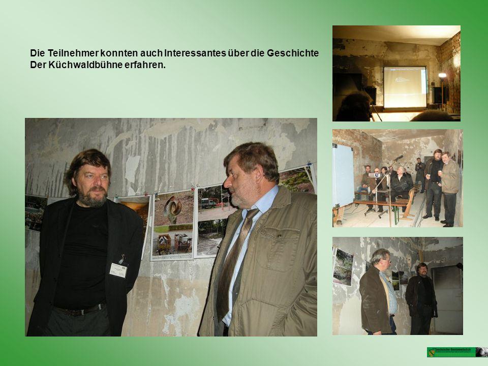 Die Teilnehmer konnten auch Interessantes über die Geschichte