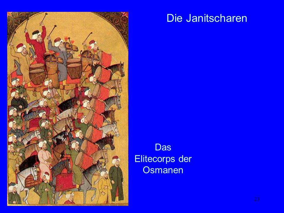 Das Elitecorps der Osmanen