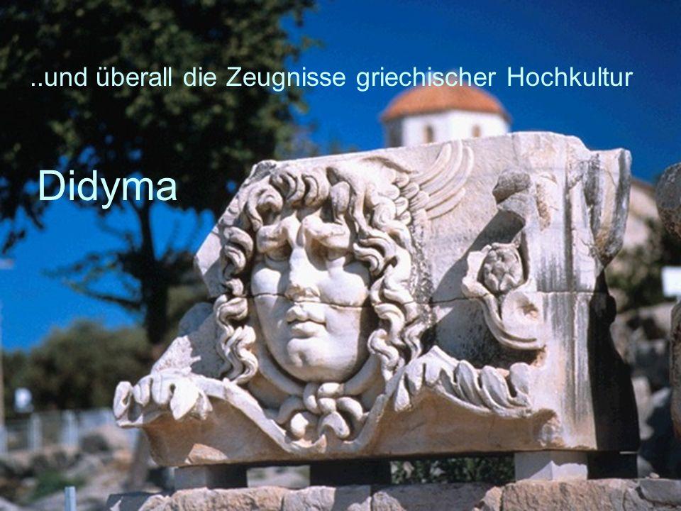 Didyma ..und überall die Zeugnisse griechischer Hochkultur