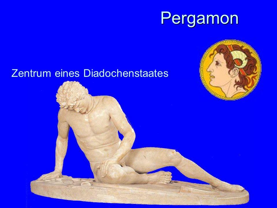 Pergamon Zentrum eines Diadochenstaates