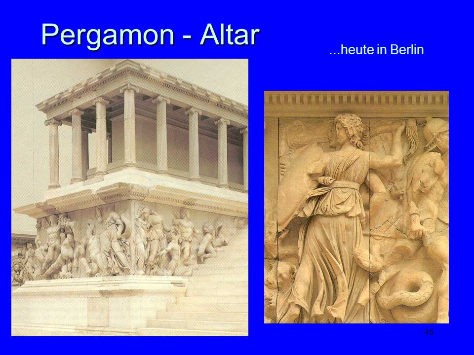 Pergamon - Altar ...heute in Berlin