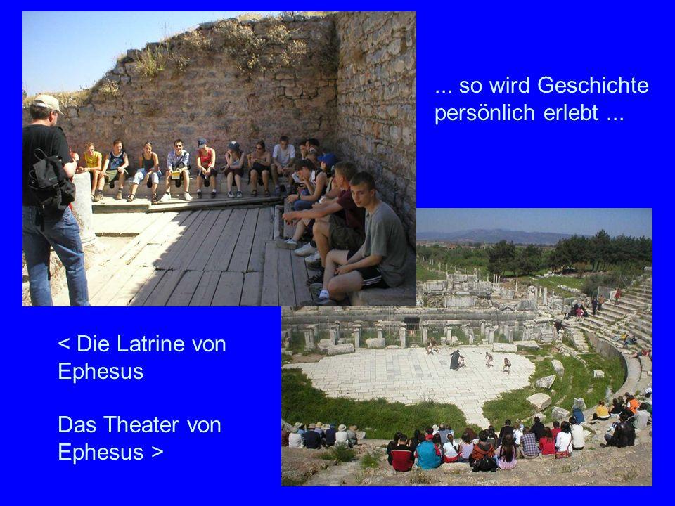 < Die Latrine von Ephesus