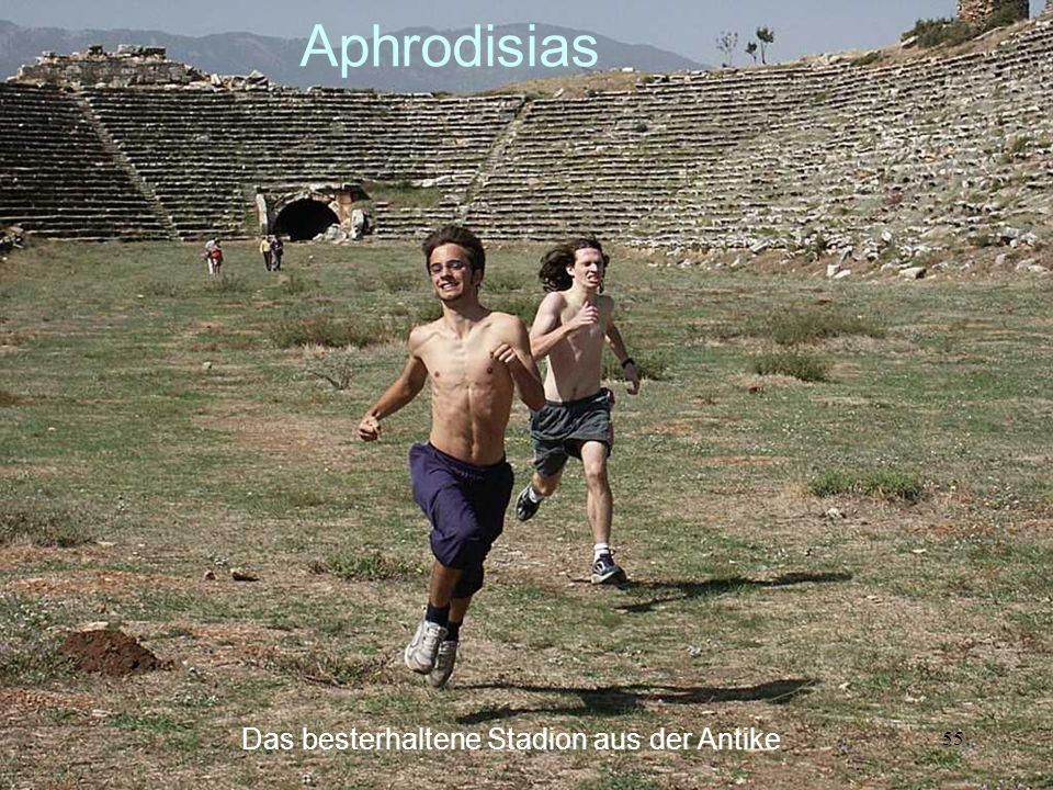 Aphrodisias Das besterhaltene Stadion aus der Antike