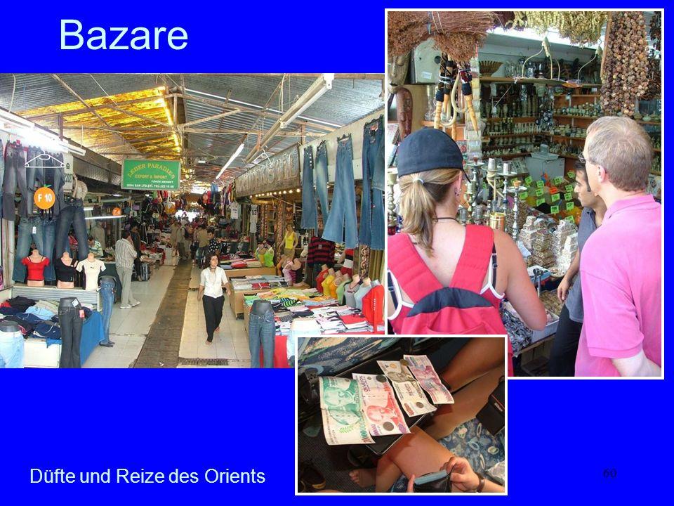 Bazare Düfte und Reize des Orients