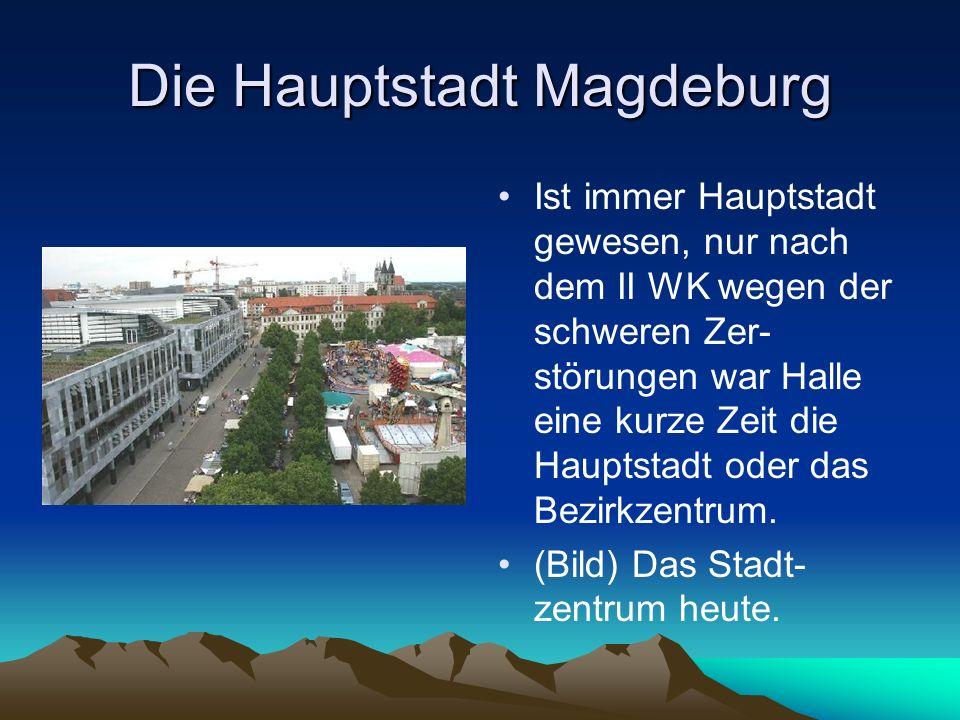 Die Hauptstadt Magdeburg