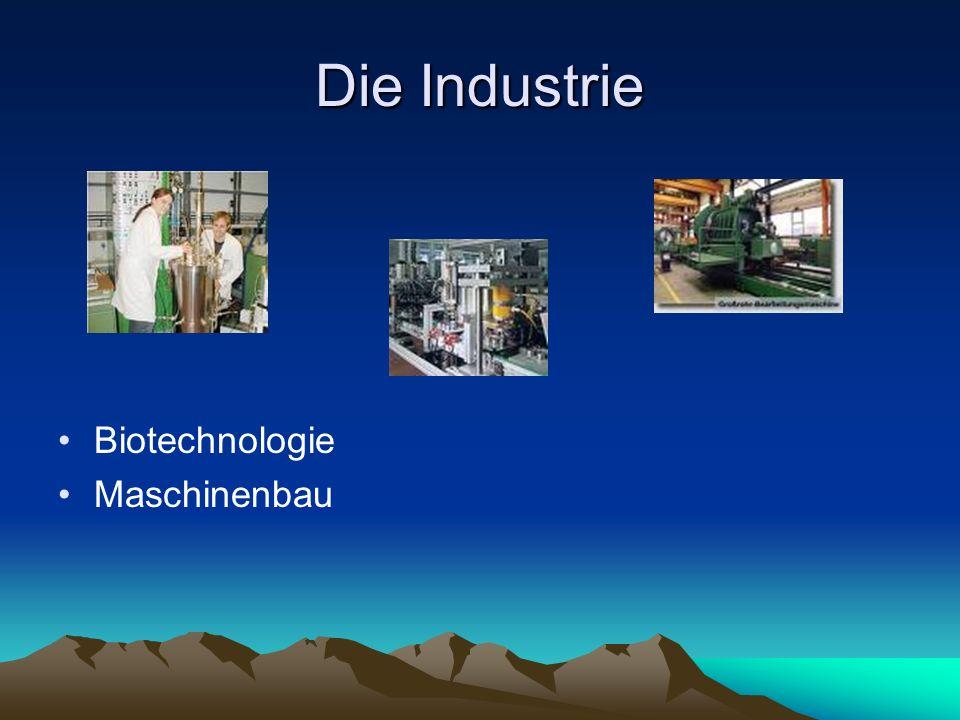 Die Industrie Biotechnologie Maschinenbau