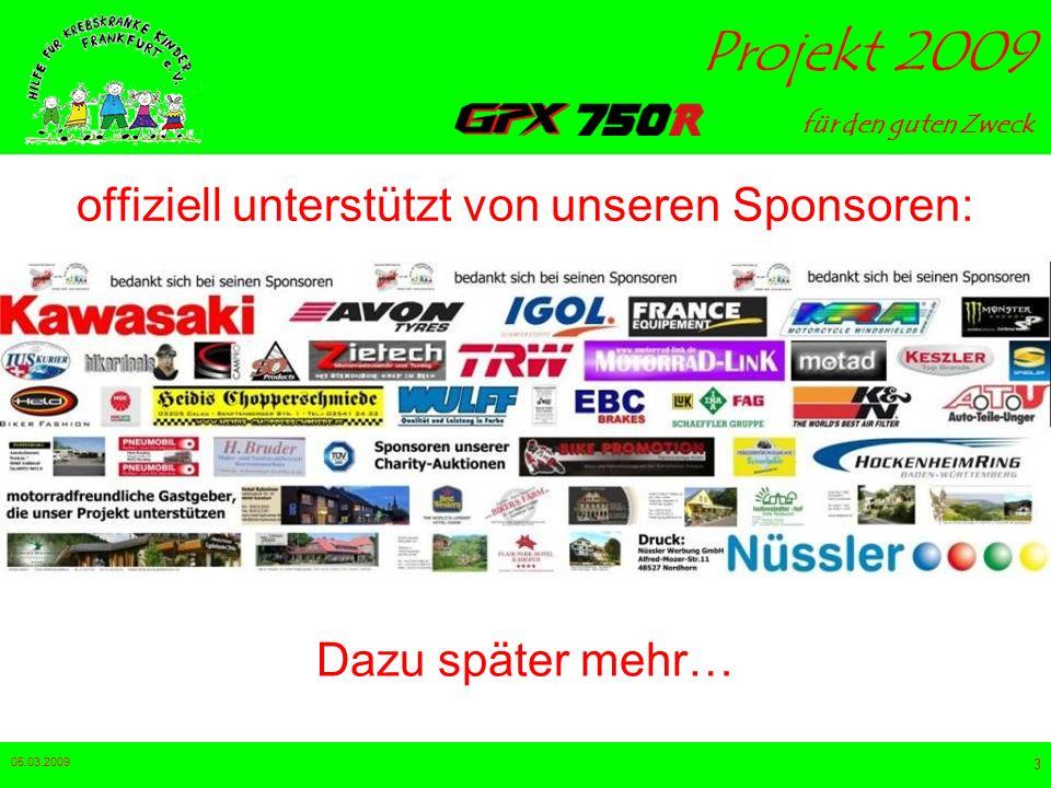 offiziell unterstützt von unseren Sponsoren: