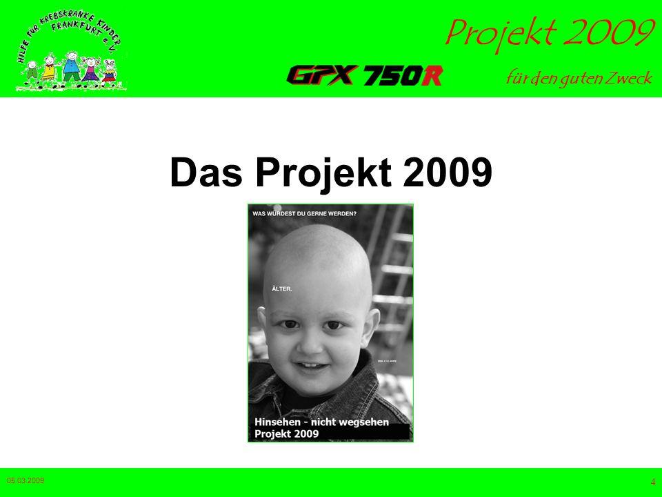 Das Projekt 2009