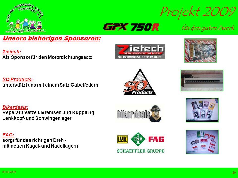 Unsere bisherigen Sponsoren: