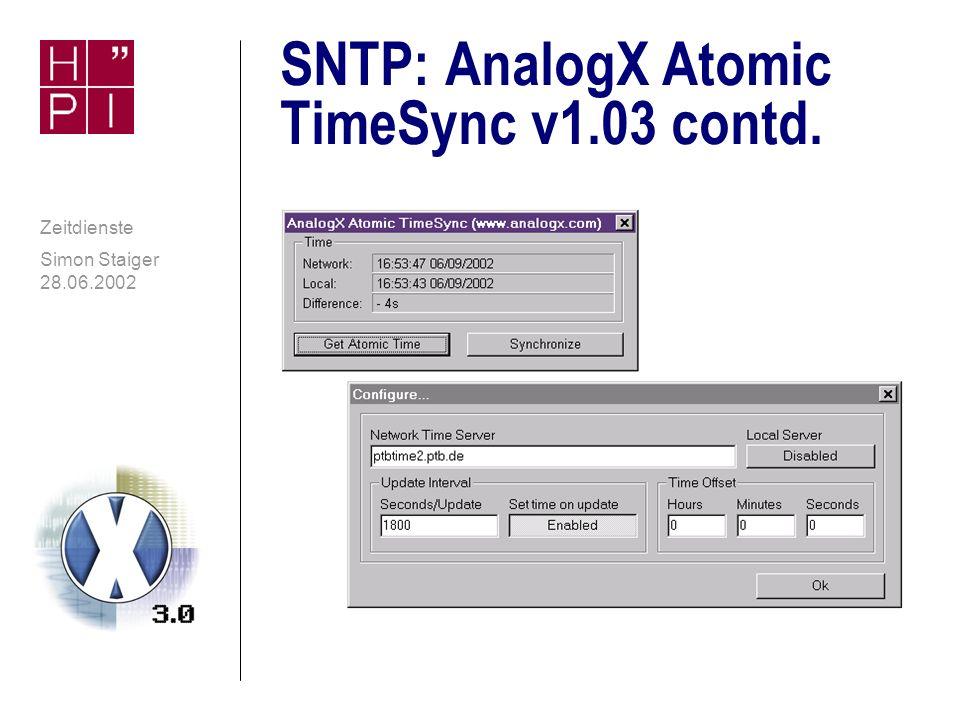 SNTP: AnalogX Atomic TimeSync v1.03 contd.