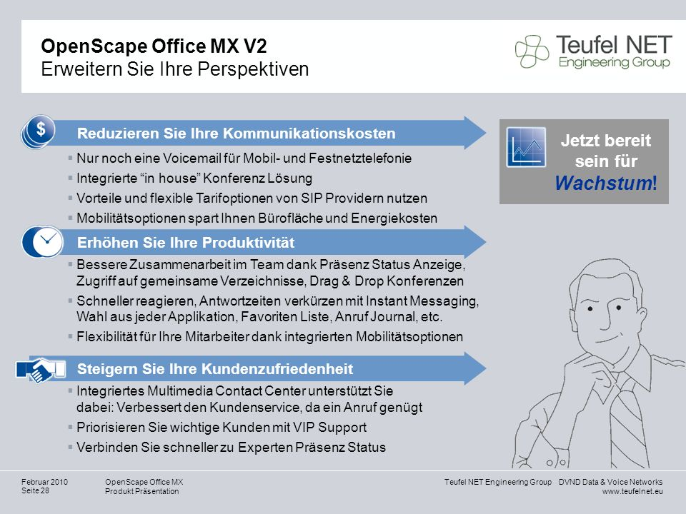 OpenScape Office MX V2 Erweitern Sie Ihre Perspektiven
